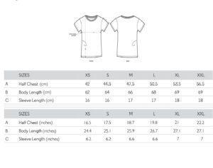 Guide des tailles coupe classique